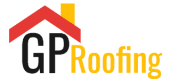 GP Damp Proofing & Roof Repairs  logo transparent white text